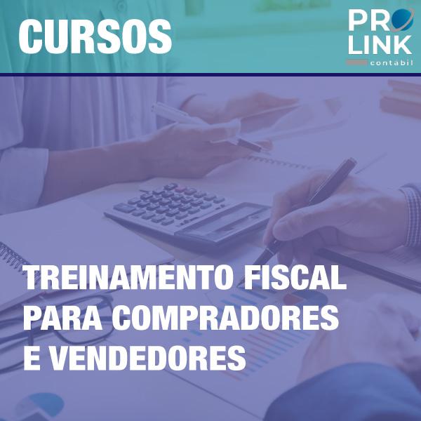 cursos prolink treinamento fiscal